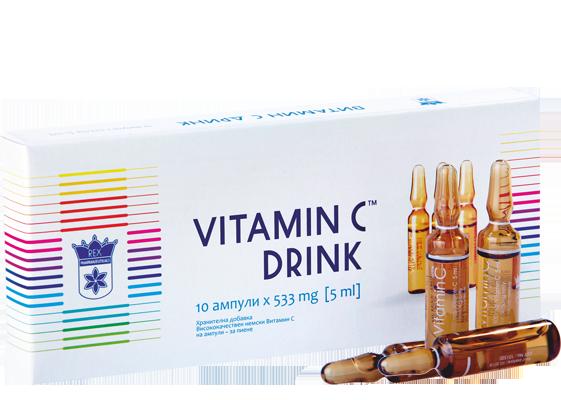 Немско Витамин С за пиене 533mg [5ml]